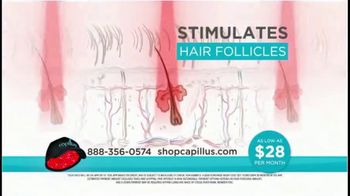 Capillus Laser Cap TV Spot, 'Treat Hair Loss at Home: $28 per Month' - Thumbnail 4