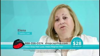 Capillus Laser Cap TV Spot, 'Treat Hair Loss at Home: $28 per Month' - Thumbnail 7