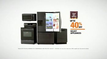The Home Depot Labor Day Savings TV Spot, 'Cool Drinks & Homemade Treats: Samsung' - Thumbnail 8