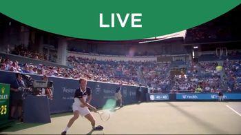 Tennis Channel Plus TV Spot, 'Western & Southern Open' - Thumbnail 6