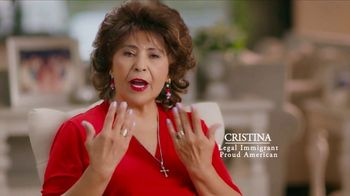 America First Action SuperPAC TV Spot, 'Cristina'