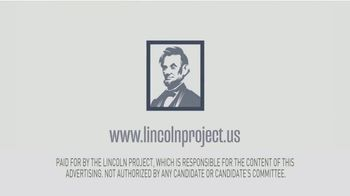 The Lincoln Project TV Spot, 'Decency' - Thumbnail 9