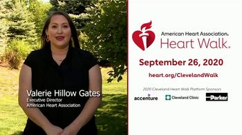 American Heart Association Heart Walk TV Spot, '2020 Cleveland: Walk Where Your Heart Is' - Thumbnail 1