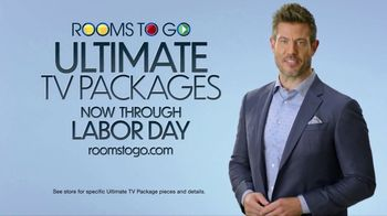 Rooms to Go Ultimate TV Package TV Spot, 'Labor Day: Perfect Time: Cocktail Table' Ft. Jesse Palmer - Thumbnail 8