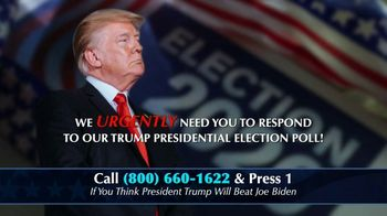 Great America PAC TV Spot, 'Trump Presidential Election Poll'