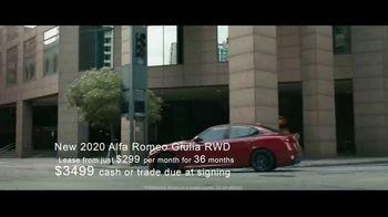 Alfa Romeo Summer of Speed Event TV Spot, 'Type A: Giulia' Featuring Alexander Skarsgård [T2] - Thumbnail 4