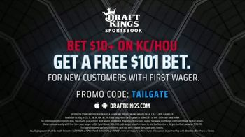 DraftKings Sportsbook TV Spot, 'Houston vs. Kansas City: Free $101 Bet' - Thumbnail 7