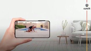 cure.fit TV Spot, 'Experience Today' Song by Jincheng Zhang - Thumbnail 3
