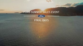 Ford Summer Sales Event TV Spot, 'Labor Day: Last Chance' Song by Kygo, Whitney Houston [T2] - Thumbnail 1