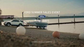 Ford Summer Sales Event TV Spot, 'Labor Day: Last Chance' Song by Kygo, Whitney Houston [T2] - Thumbnail 2