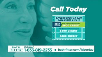 Bath Fitter TV Spot, 'Labor Day: First 20 Callers' - Thumbnail 4