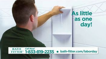 Bath Fitter TV Spot, 'Labor Day: First 20 Callers' - Thumbnail 6