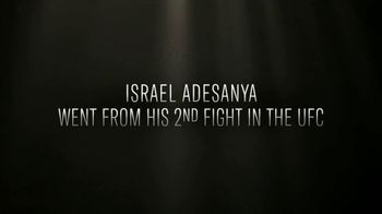 UFC Fight Pass TV Spot, 'Year of the Fighter: Israel Adesanya' - Thumbnail 2