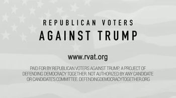 Republican Voters Against Trump TV Spot, 'Former Chief of Staff of Trump's DHS' - Thumbnail 9