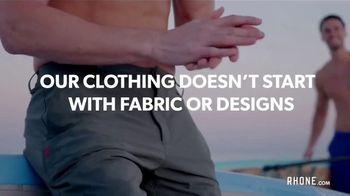 Rhone TV Spot, 'Premium Men's Activewear'