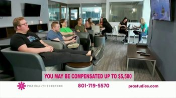 PRA Health Sciences TV Spot, 'Earn up to $5,500' - Thumbnail 7