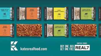 Kate's Real Food TV Spot, 'Buy One Box, Get One Free'