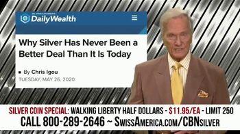 Swiss America Silver Coin Special TV Spot, 'Walking Liberty Half Dollars: Headlines' Feat. Pat Boone - Thumbnail 1