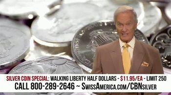 Swiss America Silver Coin Special TV Spot, 'Walking Liberty Half Dollars: Headlines' Feat. Pat Boone - Thumbnail 3