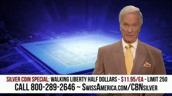 Swiss America Silver Coin Special TV Spot, 'Walking Liberty Half Dollars: Headlines' Feat. Pat Boone - Thumbnail 4