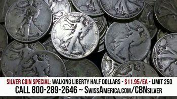 Swiss America Silver Coin Special TV Spot, 'Walking Liberty Half Dollars: Headlines' Feat. Pat Boone - Thumbnail 5