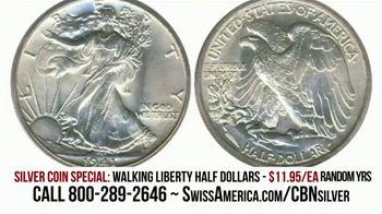 Swiss America Silver Coin Special TV Spot, 'Walking Liberty Half Dollars: Headlines' Feat. Pat Boone - Thumbnail 6