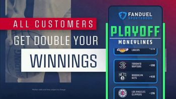 FanDuel Sportsbook TV Spot, 'NBA Playoffs: DBLUP Winnings'