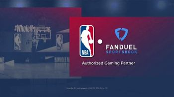 FanDuel TV Spot, 'It's NBA Playoff Time: Double Your Winnings If the Last Shot Is a Three' - Thumbnail 1