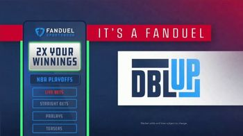 FanDuel TV Spot, 'It's NBA Playoff Time: Double Your Winnings If the Last Shot Is a Three' - Thumbnail 3