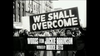 Major League Baseball TV Spot, 'A Tribute to Jackie Robinson' Featuring Mookie Betts - Thumbnail 1