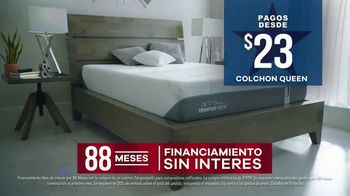 Rooms to Go Venta por el Día del Trabajo TV Spot, 'Tempur-Pedic' [Spanish] - Thumbnail 4