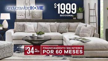 Rooms to Go Venta por el Día del Trabajo TV Spot, 'Cindy Crawford Home' [Spanish] - Thumbnail 5