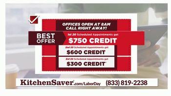 Kitchen Saver TV Spot, 'Labor Day: Check' - Thumbnail 7