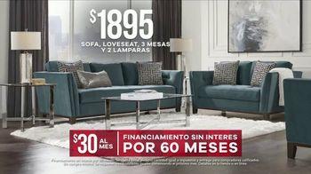 Rooms to Go Venta por el Día del Trabajo TV Spot, 'Juego de sala' [Spanish] - Thumbnail 7