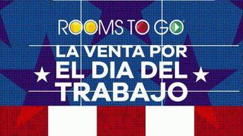 Rooms to Go Venta por el Día del Trabajo TV Spot, 'Juego de colchon Kingsdown' [Spanish] - Thumbnail 8