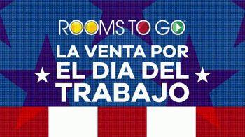 Rooms to Go Venta por el Día del Trabajo TV Spot, 'Juego de colchon Kingsdown' [Spanish] - Thumbnail 2
