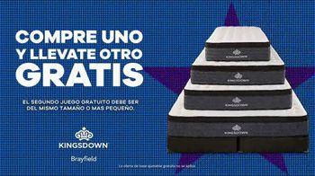 Rooms to Go Venta por el Día del Trabajo TV Spot, 'Juego de colchon Kingsdown' [Spanish] - Thumbnail 5