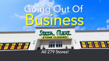Stein Mart TV Spot, 'Going Out of Business: Up to 40% Off'