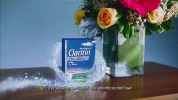 Claritin Cool Mint Chewables TV Spot, 'Feel the Clarity: Dog Walk: $34'