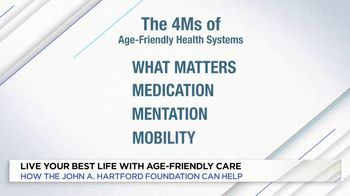 The John A. Hartford Foundation TV Spot, 'Live Your Best Life' - Thumbnail 7