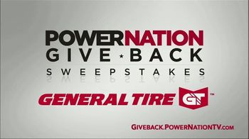 PowerNation Give Back Sweepstakes TV TV Spot, 'Free Set of Tires' - Thumbnail 1