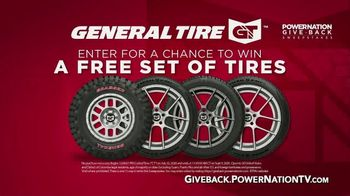 PowerNation Give Back Sweepstakes TV TV Spot, 'Free Set of Tires' - Thumbnail 4