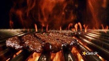 Carl's Jr. BLT Ranch Double Cheeseburger TV Spot, 'Beef Zone' - Thumbnail 3