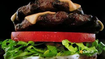 Carl's Jr. BLT Ranch Double Cheeseburger TV Spot, 'Beef Zone'