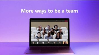Microsoft Teams TV Spot, 'More Ways to Be a Team' Song by Club Yoko - Thumbnail 9