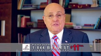 Stephen Siller Tunnel to Towers Foundation TV Spot, 'Mortgage-Free Homes' Ft. Rudy Giuliani - Thumbnail 8