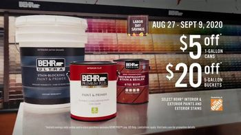 BEHR Paint Labor Day Savings TV Spot, 'The Wall' - Thumbnail 8