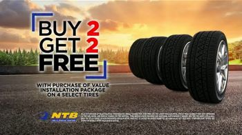 National Tire & Battery (NTB) Labor Day Savings TV Spot, 'Buy Two, Get Two Free' - Thumbnail 4