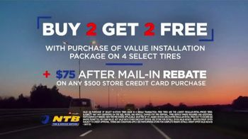 National Tire & Battery (NTB) Labor Day Savings TV Spot, 'Buy Two, Get Two Free' - Thumbnail 6