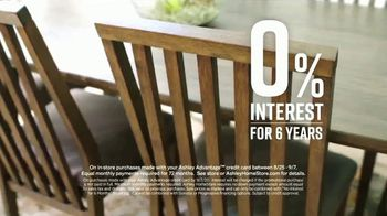 Ashley HomeStore Labor Day Sale TV Spot, '30% Off or 0% Interest for Six Years' - Thumbnail 6